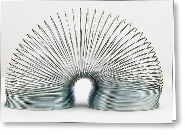 Slinky Spring Greeting Card by Dorling Kindersley/uig