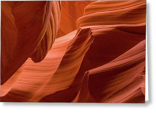 Slot Canyon, Lower Antelope Canyon Greeting Card