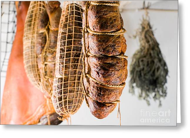 Smoked Meat Greeting Card