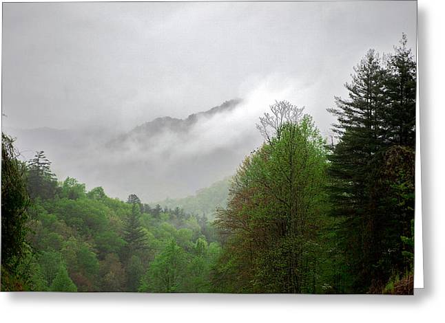 Smoky Mountains Greeting Card by Lawrence Boothby