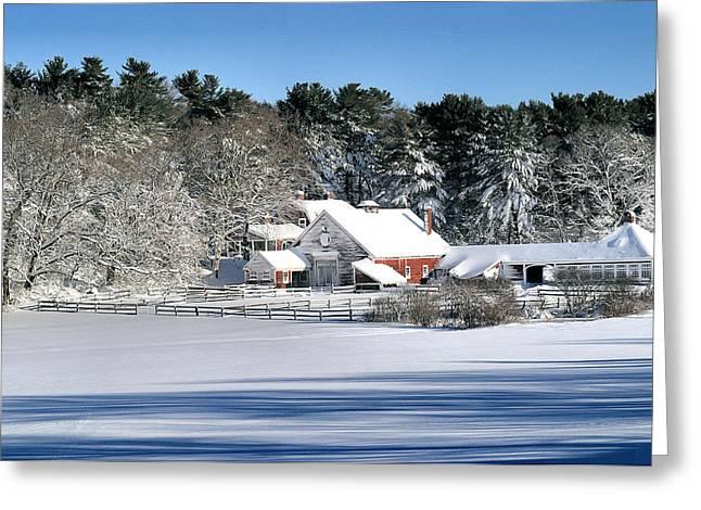 Snow Farm Greeting Card