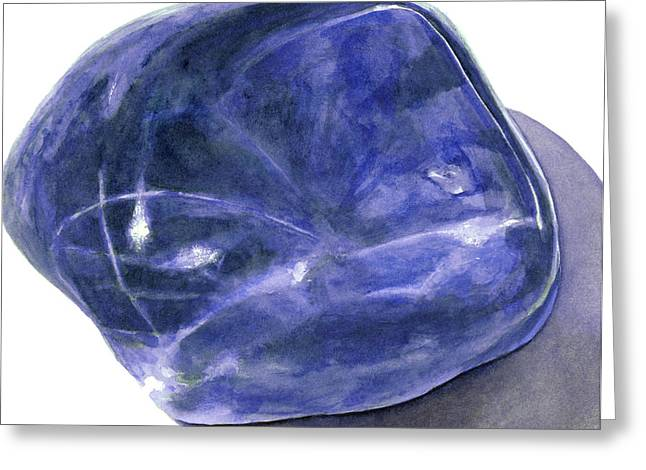 Sodalite Stone Greeting Card