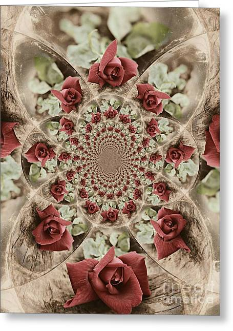 Soft Beauty Greeting Card by Clare Bevan