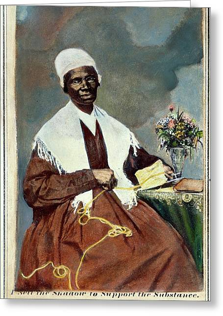 Sojourner Truth (c1797-1883) Greeting Card