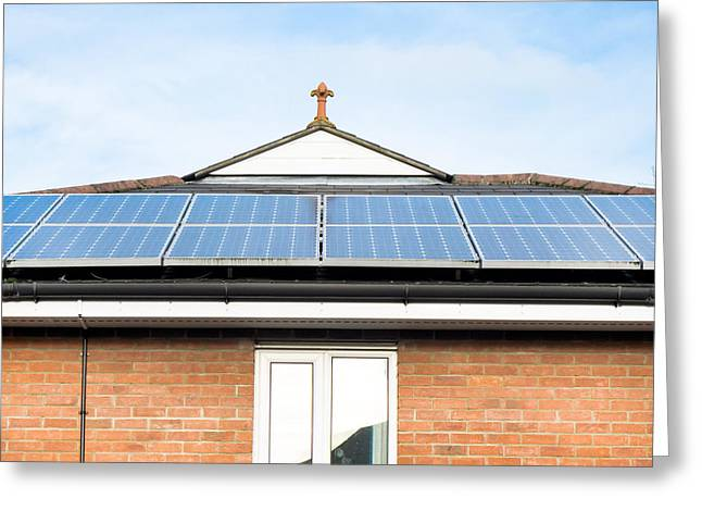 Solar Panels Greeting Card