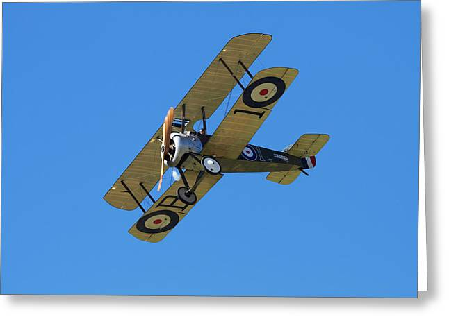 Sopwith Camel - Wwi Fighter Plane Greeting Card by David Wall