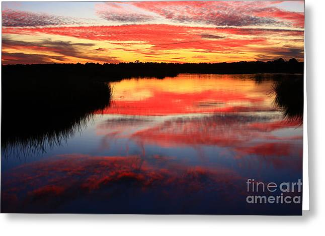 South Ponte Vedra Coast Greeting Card