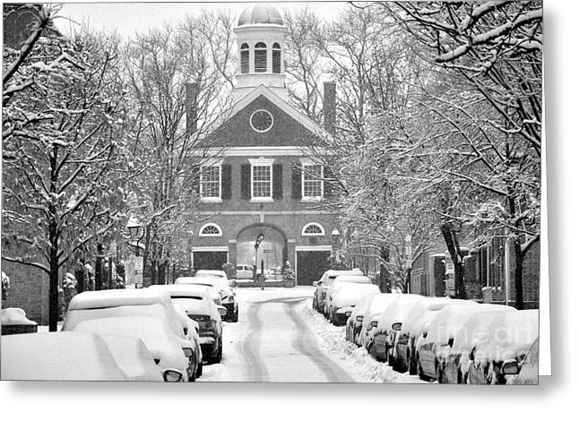 South Street Headhouse  Greeting Card by Andrew Dinh