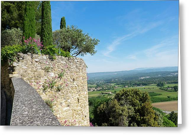 Southern France, Provence, Luberon Greeting Card by Emily Wilson