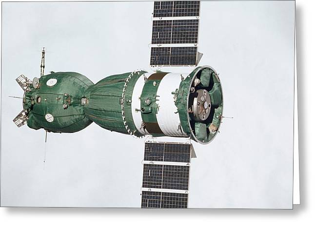 Soyuz 19 In Orbit Greeting Card by Nasa