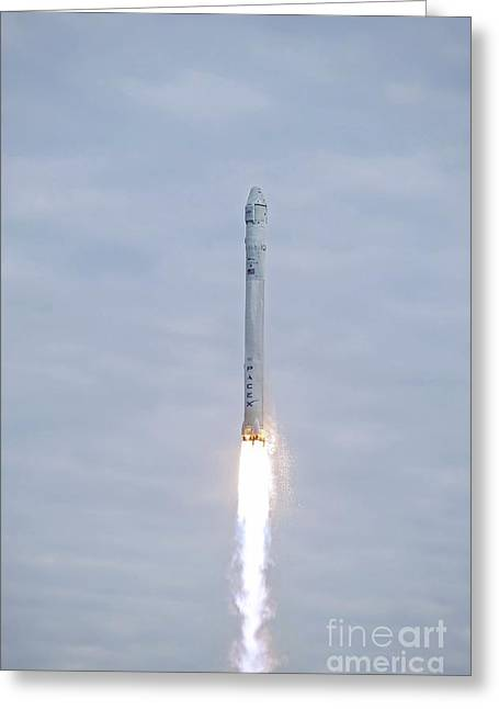 Spacex Crs-2 Launch, March 2013 Greeting Card by Nasa