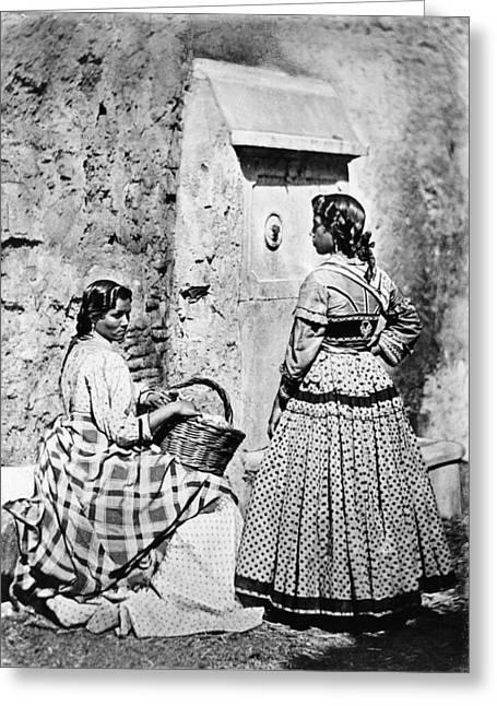Spain Gypsies, C1860-80 Greeting Card by Granger