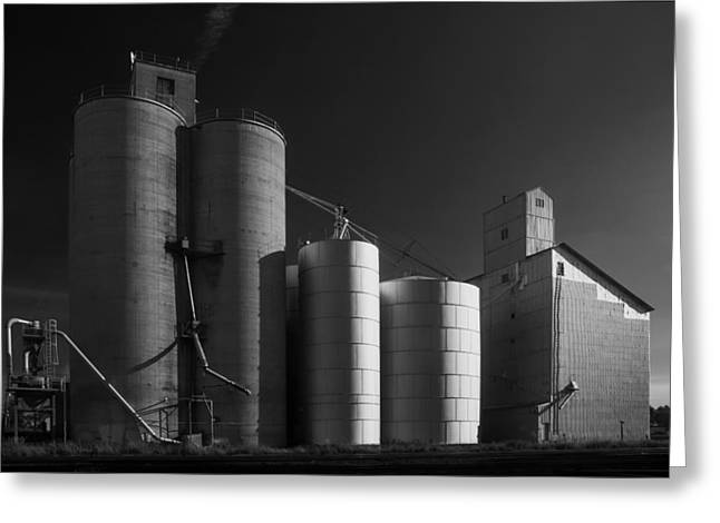 Spangle Grain Elevator Greeting Card