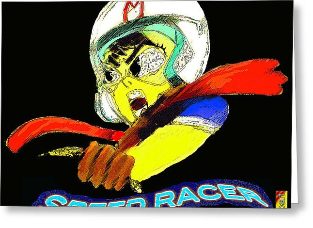 Speed Racer Greeting Card by Jazzboy