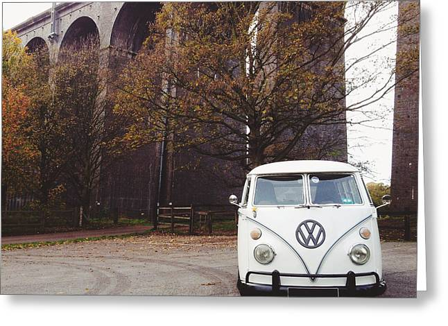 Splitty By The Viaducts Greeting Card
