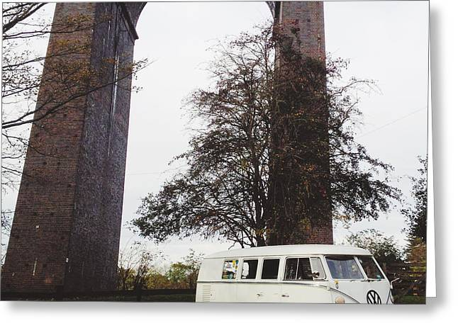 Splitty By The Viaducts IIi Greeting Card