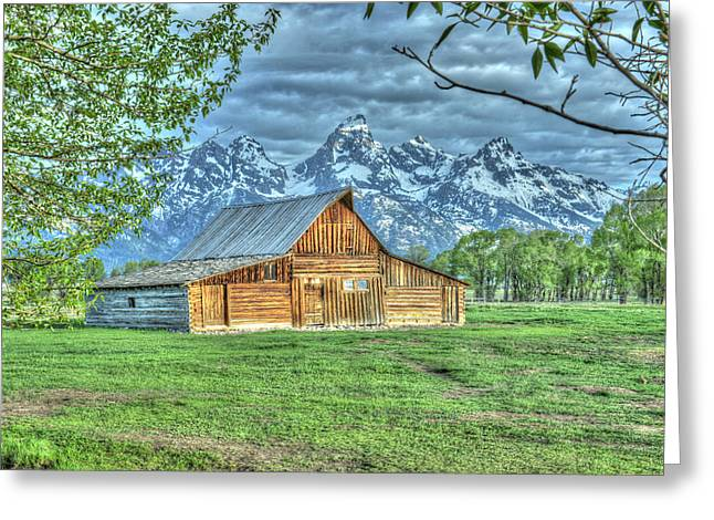 Greeting Card featuring the photograph Spring Barn by David Armstrong