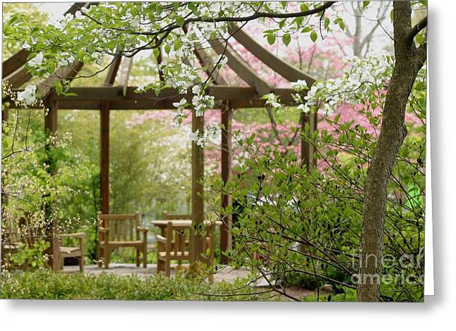 Spring Seating Greeting Card