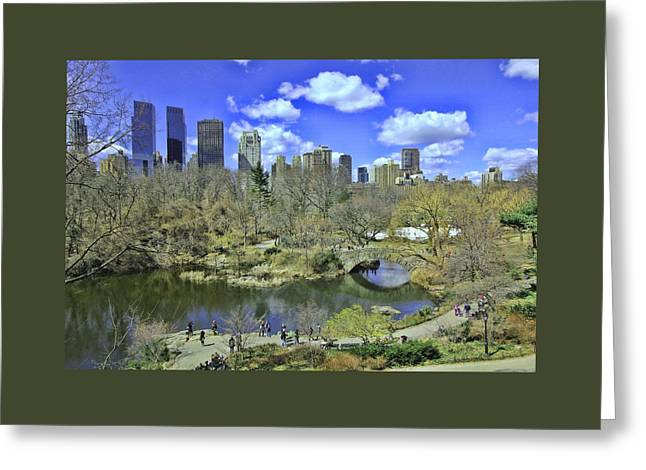 Springtime In Central Park Greeting Card