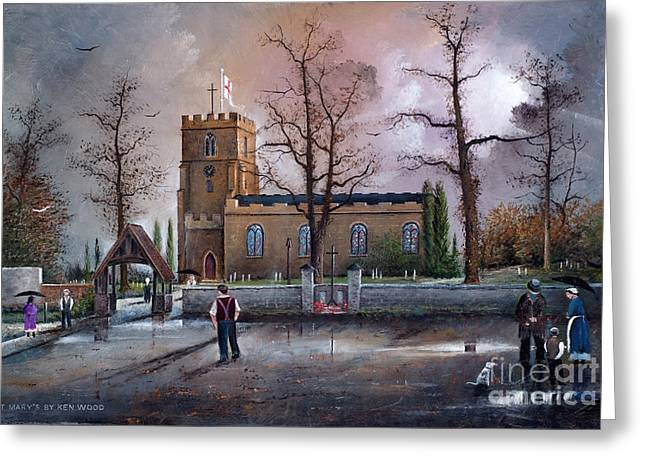 St Marys Church - Kingswinford Greeting Card