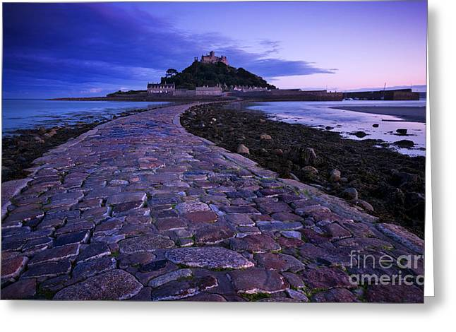 St Michael's Mount Greeting Card