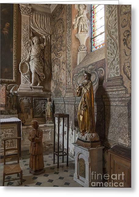 St Paul De Vance Greeting Card