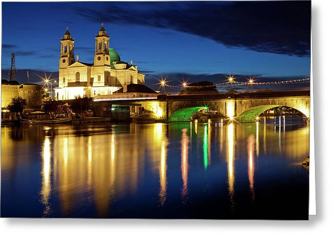 St. Peter And Paul Church With Bridge Greeting Card