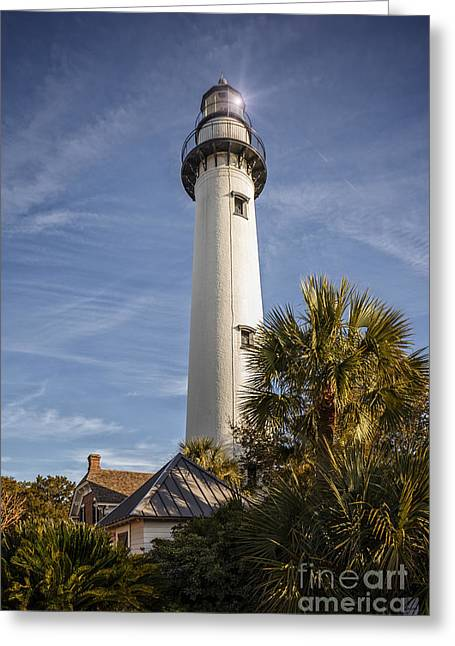 St. Simons Lighthouse Greeting Card