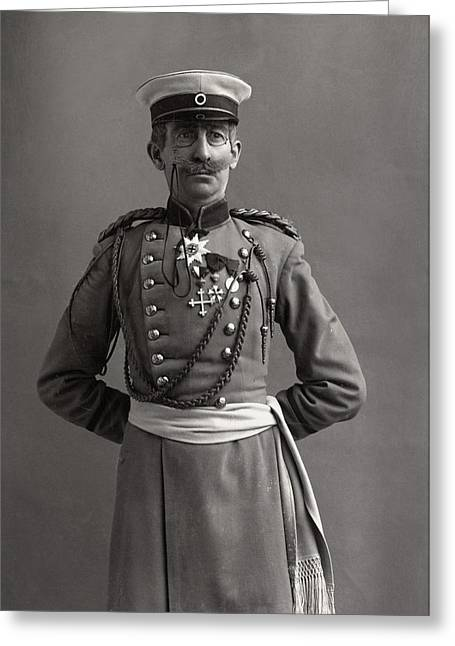 Stage German Officer Greeting Card by Granger