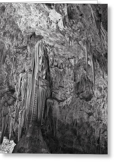 Stalactites In The Hall Of Giants Greeting Card