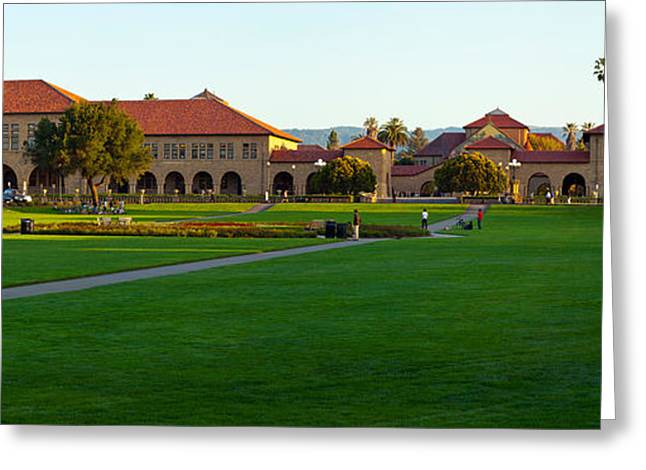 Stanford University Campus, Palo Alto Greeting Card by Panoramic Images