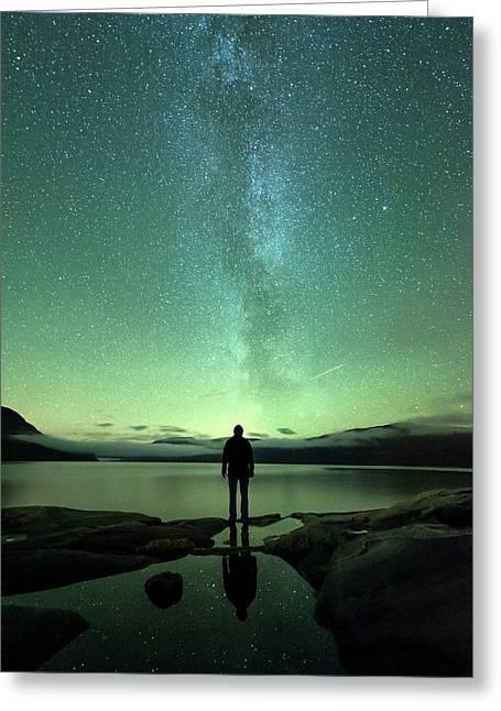 Stargazing Greeting Card