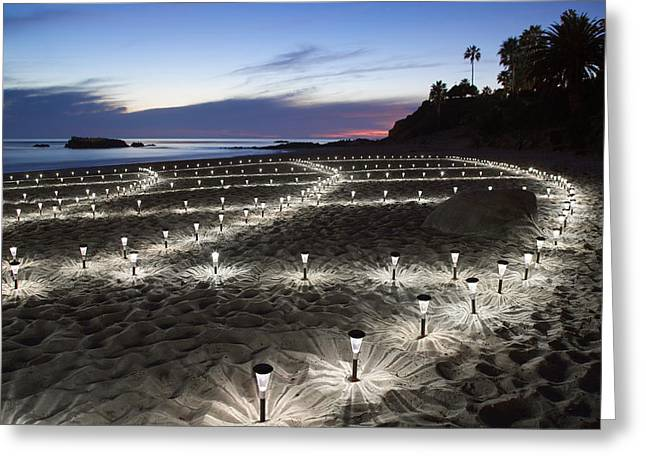 Stars On The Sand Greeting Card by Cliff Wassmann