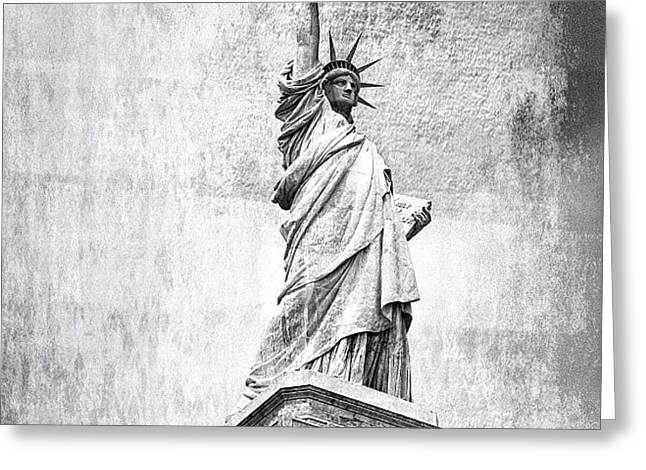 Statue Of Liberty - Ny Greeting Card
