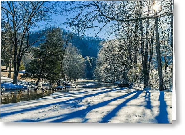 Steele Creek Winter Greeting Card