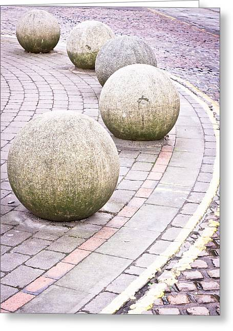 Stone Balls Greeting Card