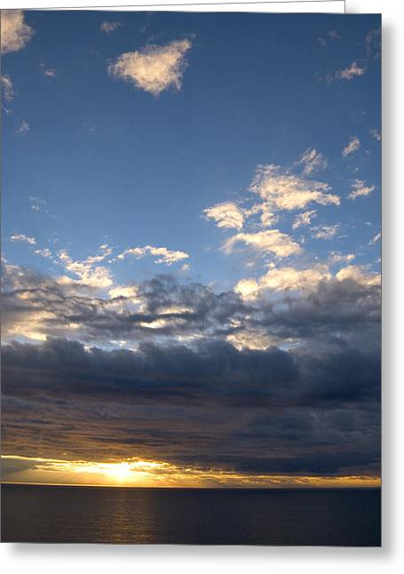 Stormy Sky Greeting Card by Bob Pardue