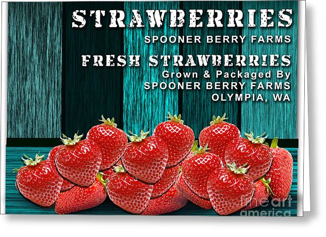 Strawberry Farm Greeting Card