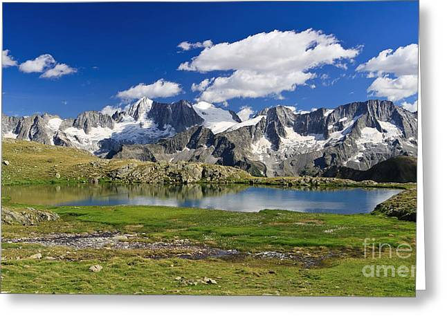 Greeting Card featuring the photograph Strino Lake - Italy by Antonio Scarpi