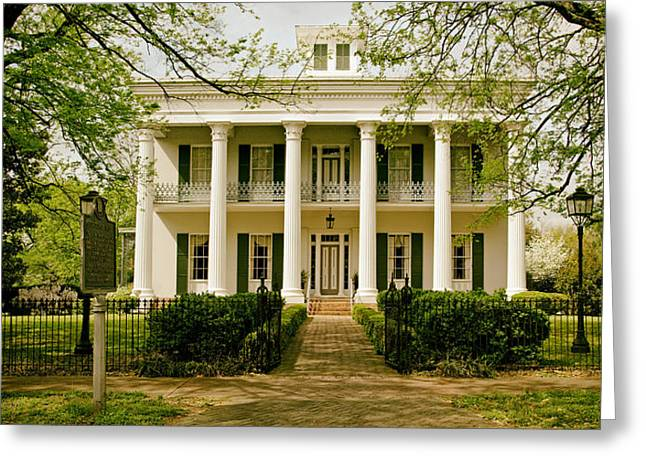Sturdivant Hall - Selma Alabama Greeting Card by Mountain Dreams