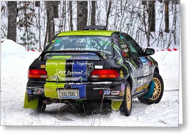 Subaru Car 853 Greeting Card by Rick Jackson