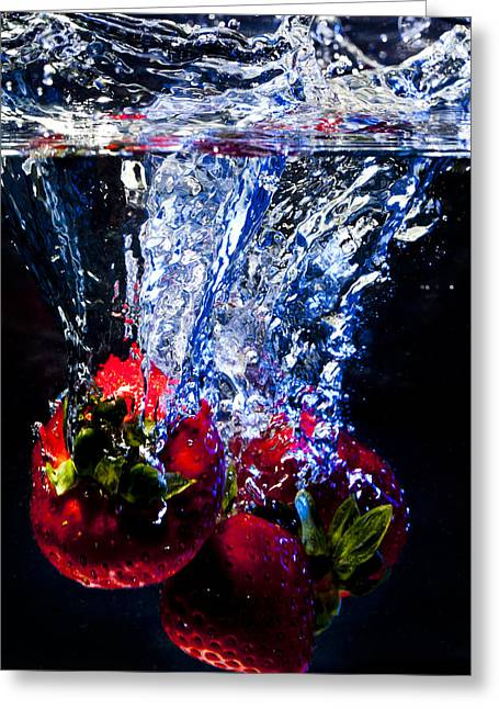 Submerged Forever Greeting Card by Jon Glaser
