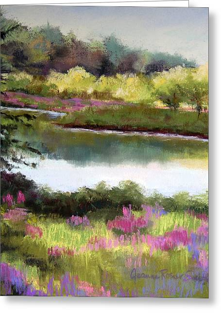 Sudbury River Greeting Card by Jeanne Rosier Smith