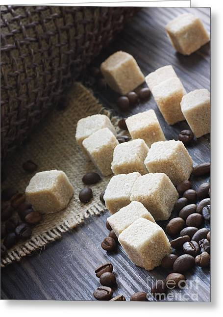 Sugar Cubes Greeting Card