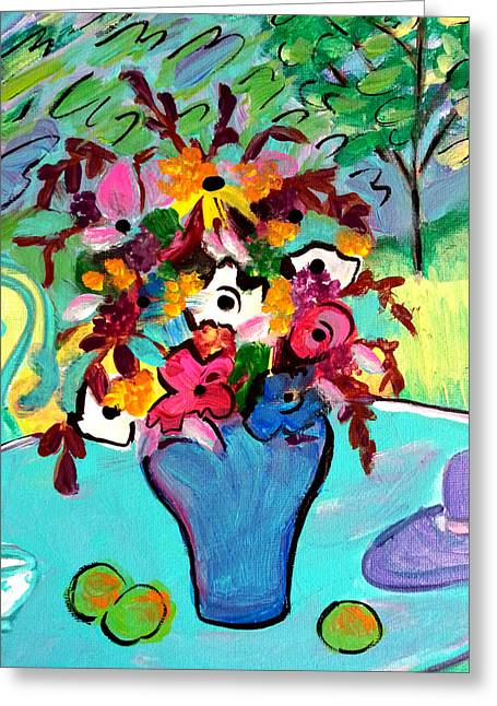 Summer Blooms 2  Greeting Card