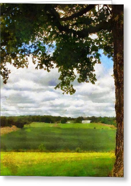 Summer Shade Greeting Card by Dan Sproul