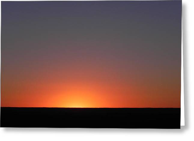 Summer Sunrise In Colorado Greeting Card
