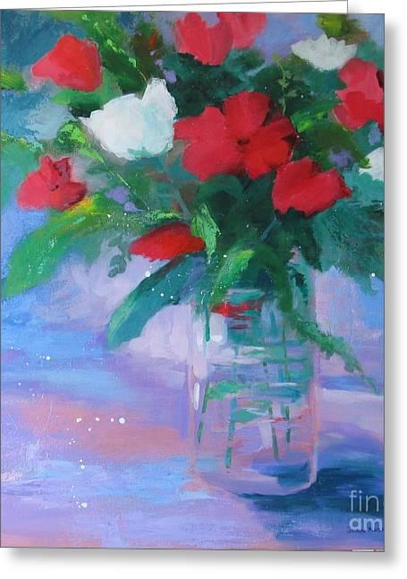 Summer Vase Greeting Card