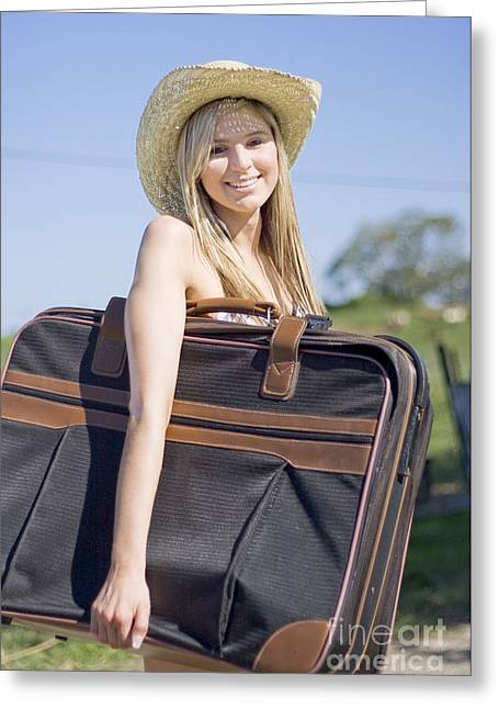 Summertime Travelling Tourist Greeting Card by Jorgo Photography - Wall Art Gallery