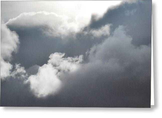 Greeting Card featuring the photograph Sun Amongst The Clouds by Alohi Fujimoto